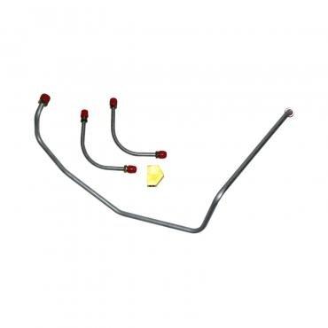 Right Stuff 69 396/375hp; 3 Lines w/ Block - Fuel Pump to Carb. Line; 4 Pcs. FPC6975
