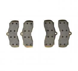 Right Stuff 67 - 68; 4 Piston Caliper Pads (2 Pr) - Brake Pads DP01