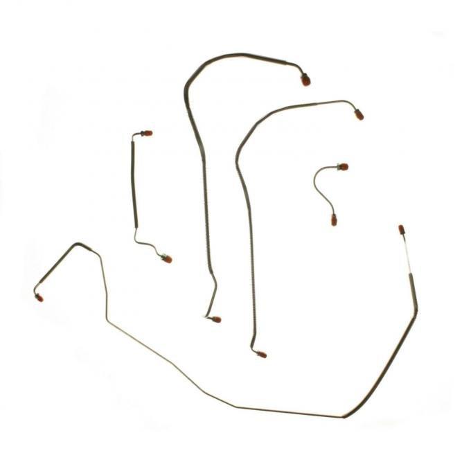 Right Stuff 68 Power Disc - Front Brake Line Kit; 5 Pcs. CKT6803
