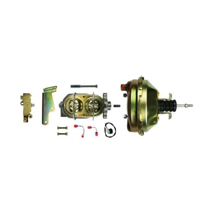 "Right Stuff Upper Assembly with Gold Booster, 1"" Bore, Valve, and Brackets G91210572"