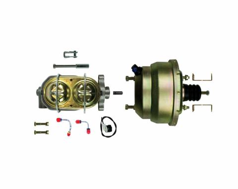 """Right Stuff Upper Assembly with Gold Booster, 1"""" Bore, Valve and Brackets G843105"""