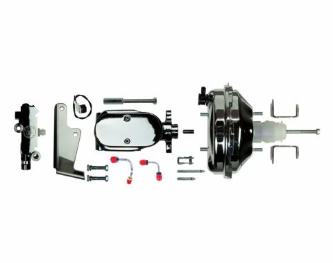 "Right Stuff Upper Assembly with Chrome Booster, 1.125"" Bore, Valve and Brackets J91215171"