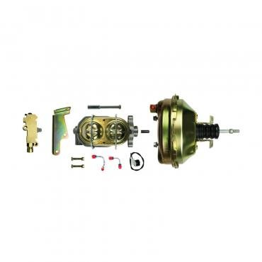 """Right Stuff Upper Assembly with Gold Booster, 1.125"""" Bore, Valve, Lines and Brackets G91210971"""