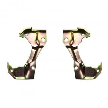 Right Stuff Pair Of GM A/F/X Body Disc Brake Caliper Mounting Brackets CMB01