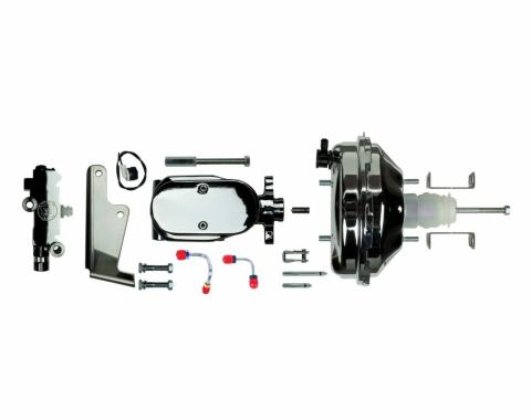 """Right Stuff Upper Assembly with Chrome Booster, 1.125"""" Bore, Valve, Lines and Brackets J94215171"""