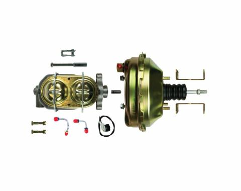 """Right Stuff Upper Assembly with Gold Booster, 1"""" Bore and Brackets G942105"""