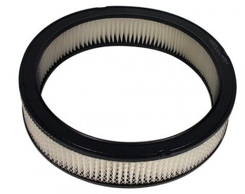 """Universal Round Air Cleaner Replacement Filter, Paper, 14"""" x 2"""""""