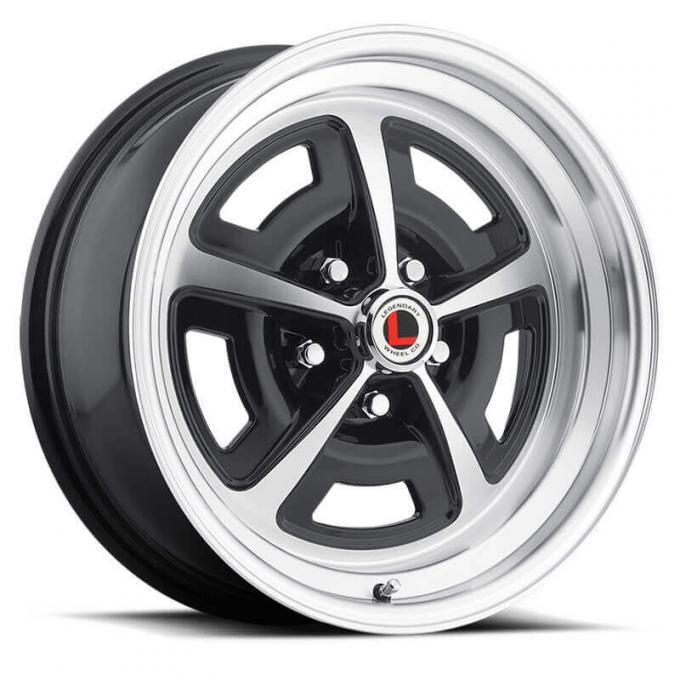 Legendary Wheels 15x7 MAG 500 ALUM GM RIM-BLK Wheel LW50-50757A