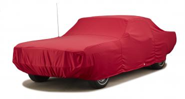 Covercraft Custom Fit Car Covers, Fleeced Satin Red FS80F3