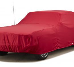 Covercraft Custom Fit Car Covers, Fleeced Satin Red FS1307F3