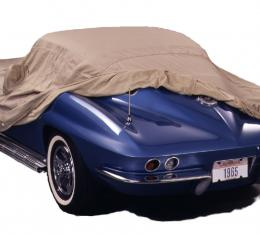 Covercraft 1964-1967 Chevrolet Chevelle Custom Fit Car Covers, Tan Flannel Tan C9859TF