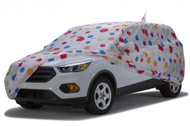 Covercraft Custom Fit Car Covers, Grafix Series Paint Splatter C472KS