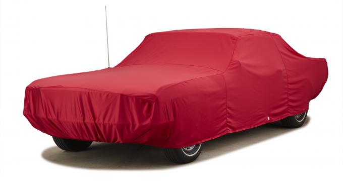 Covercraft Custom Fit Car Covers, Fleeced Satin Red FS79F3