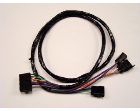 El Camino Center Console Extension Wiring Harness, For Cars With Automatic Transmission, 1969-1972