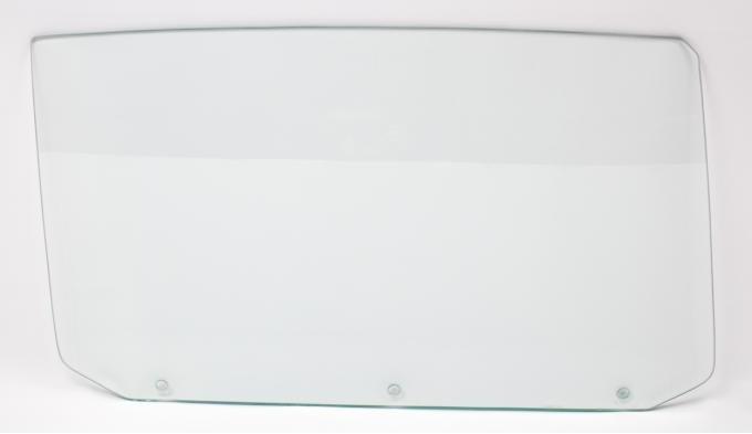 AMD Door Glass w/ 3 Holes, Clear, RH, 65 GM A-Body Convertible 550-3464-3CVR