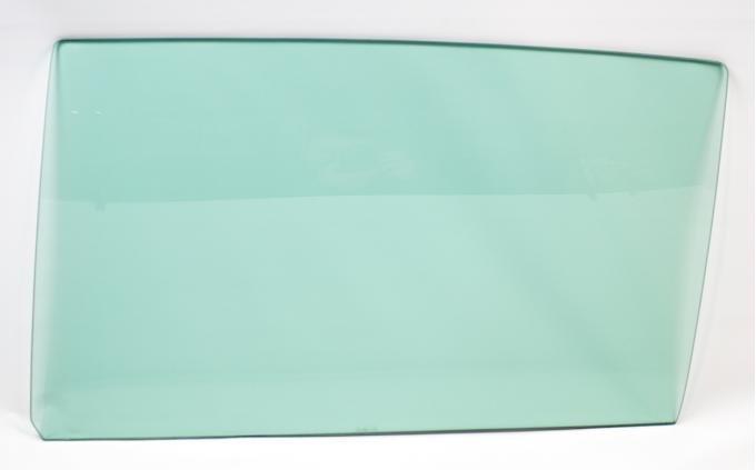 AMD Door Glass, Green Tint, LH, 68-69 Chevelle 2DR Sedan (Post); 68-72 GM BOP A-Body 2DR Sedan (Post) 550-3468-TSL