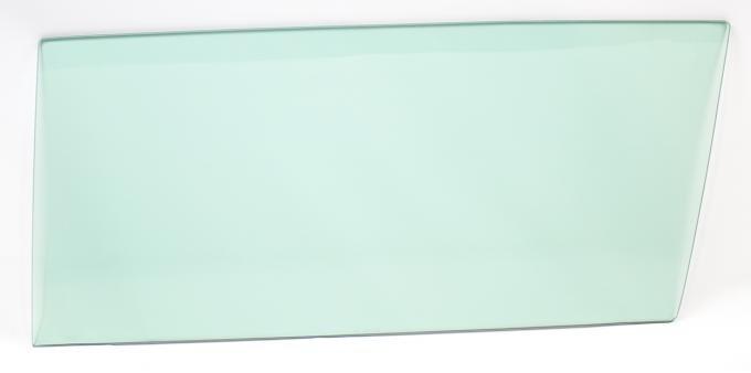 AMD Door Glass, Green Tint, LH, 64-67 Chevelle 2DR Sedan (Post); 64-65 GM A-Body 2DR Sedan (Post) 550-3464-TSL