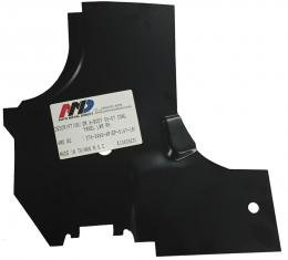 AMD Cowl Side Hinge Panel Lower Reinforcement, RH, 66-67 Chevelle El Camino GTO Skylark Cutlass 376-3466-4R