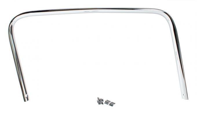 AMD Door Trim Panel, Inner, Chrome, RH, 55-59 Chevy GMC Truck ('55 2nd Series) 542-4055-CR