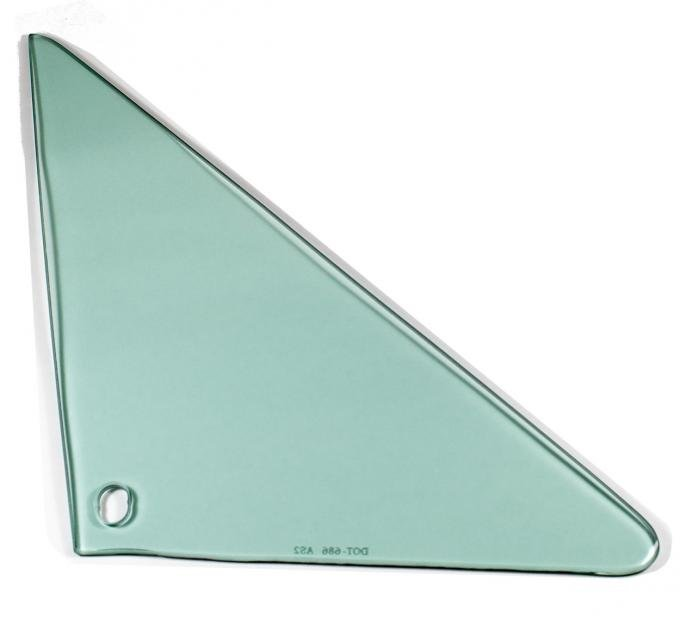 AMD Vent Glass, Green Tint, RH, 66-67 GM A-Body Coupe & Convertible 560-3466-TR