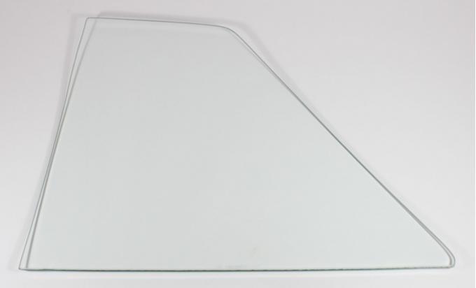 AMD Quarter Glass, Clear, RH, 64-65 Skylark Cutlass GTO 2DR Sedan (Post) 795-5464-CR