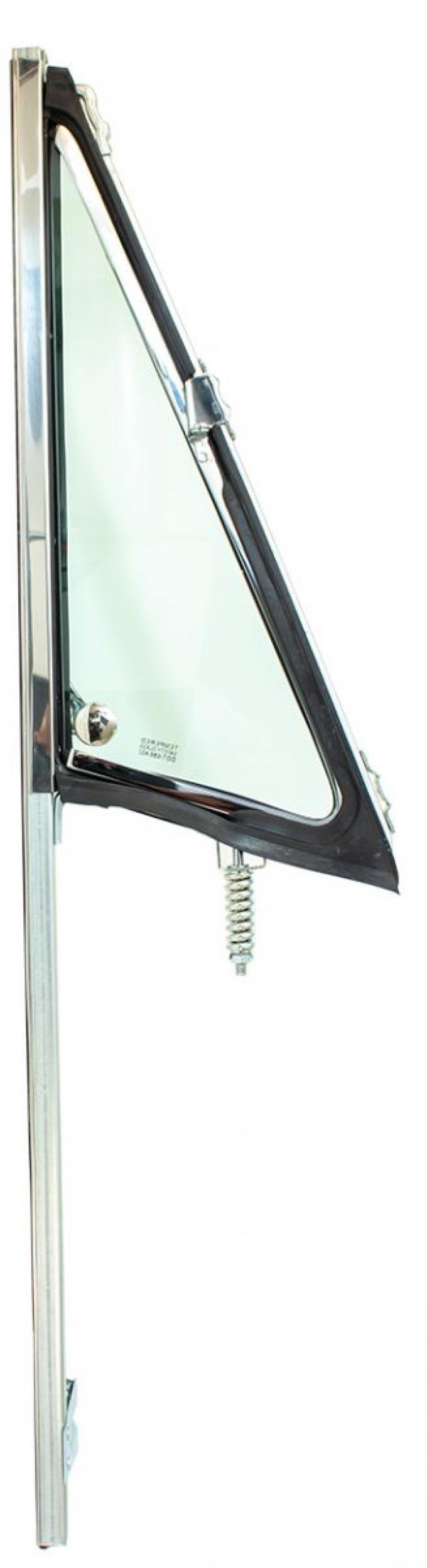 AMD Vent Glass Assembly, Green Tint, RH, 68-72 Chevy GMC Truck Suburban; 69-72 Blazer; 70-72 Jimmy 560-4068-1TR