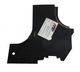 AMD Cowl Side Hinge Panel Lower Reinforcement, LH, 66-67 Chevelle El Camino GTO Skylark Cutlass 376-3466-4L