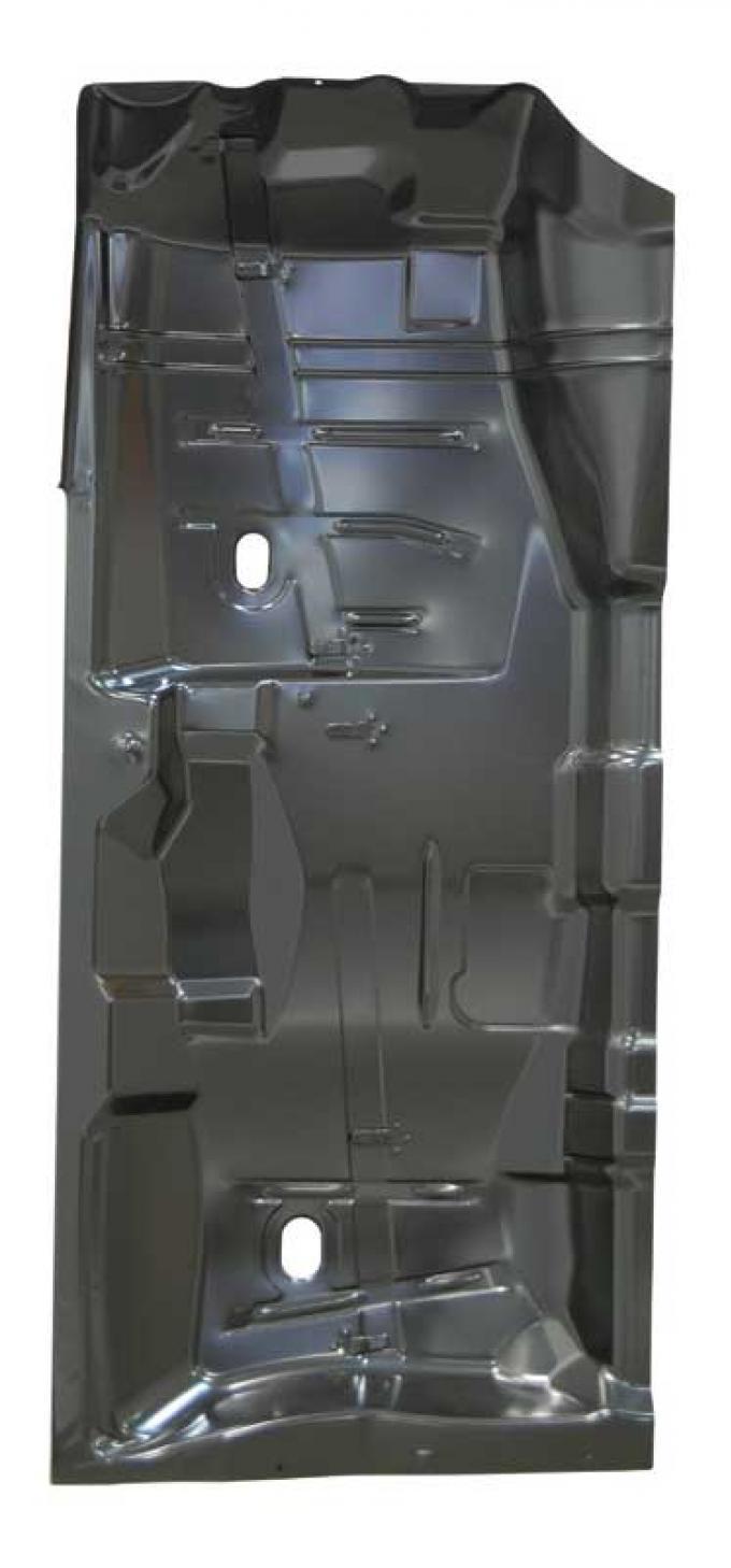 AMD Front Floor Pan Half, LH, 64-67 Chevelle El Camino GTO Skylark Cutlass 405-3464-L