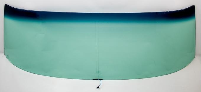 AMD Windshield with Antenna, Green Tint, 70-72 GM A-Body Convertible 380-3470-VT