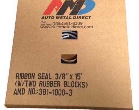 "AMD Window Ribbon Seal, 3/8"" x 15' 384-1000-3"