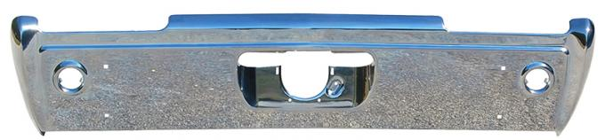 AMD Rear Bumper w/o Exhaust Tip Cutouts, 68 Cutlass 990-7468