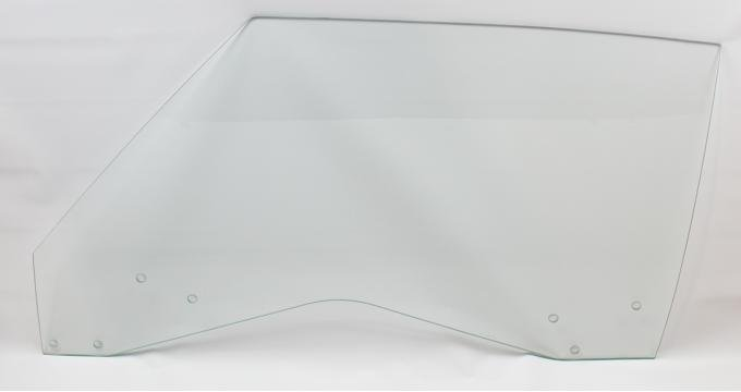 AMD Door Glass, Clear, LH, 69 GM A-Body Coupe & Convertible; 69-70 Grand Prix 550-3469-CL