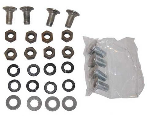 AMD Rear Bumper Bolt Set (31 pcs), 68 Chevelle (except Wagon) 991-3468-S