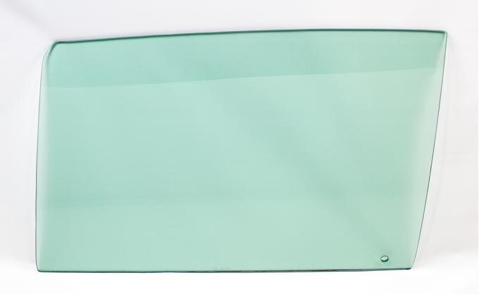 AMD Door Glass, Green Tint, LH, 68 GM A-Body Coupe & Convertible 550-3468-TL
