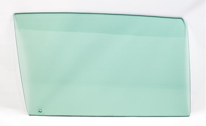 AMD Door Glass, Green Tint, RH, 68 GM A-Body Coupe & Convertible 550-3468-TR