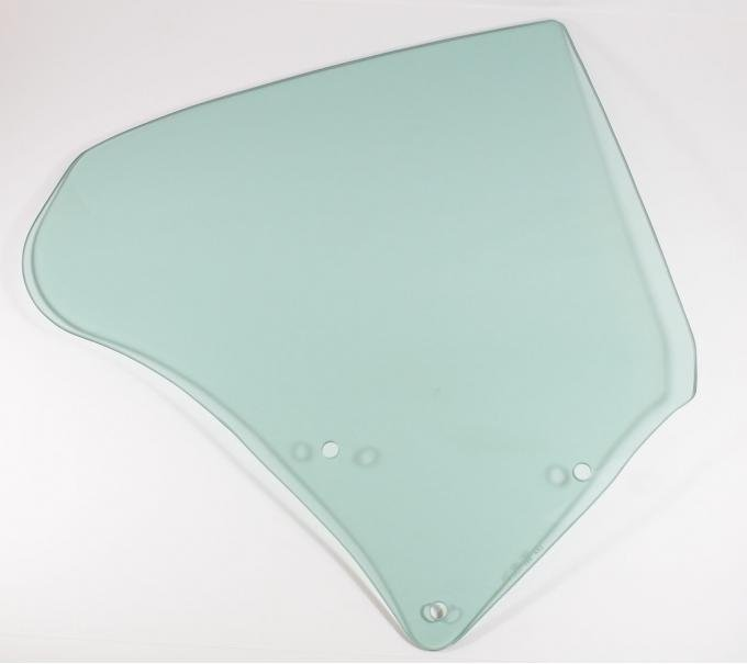 AMD Quarter Glass, Green Tint, RH, 68-72 GTO Coupe 795-5468-TR