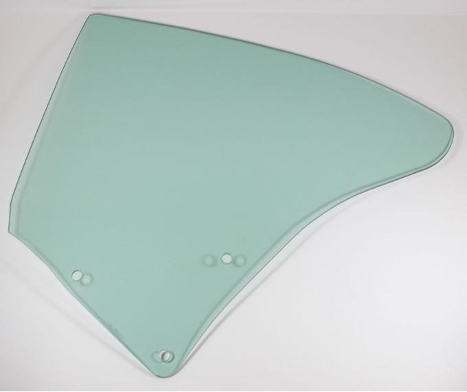 AMD Quarter Glass, Green Tint, LH, 68-72 Cutlass Coupe (Except Supreme) 795-7468-TL