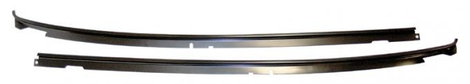 AMD Roof Drip Rails, Pair, 68-69 Chevelle 2DR Coupe 620-3468-S