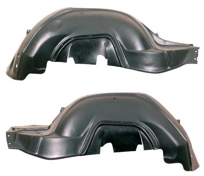AMD Inner Fenders, Plastic, Pair, 68-69 Chevelle El Camino 250-3468-1P