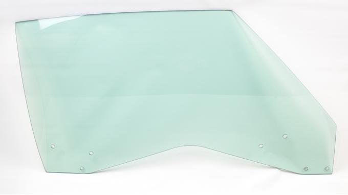 AMD Door Glass, Green Tint, RH, 69 GM A-Body Coupe & Convertible; 69-70 Grand Prix 550-3469-TR