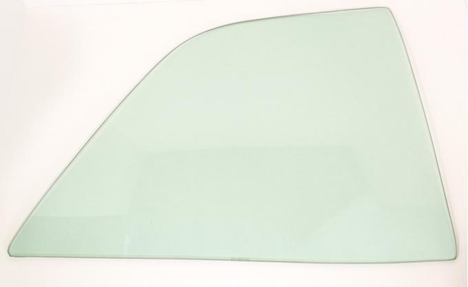 AMD Quarter Glass, Green Tint, RH, 66-67 Chevelle 2DR Sedan (Post) 795-3466-TSR