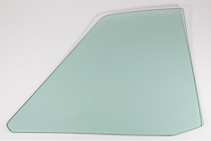 AMD Quarter Glass, Green Tint, LH, 64-65 Chevelle Coupe 795-3464-TL