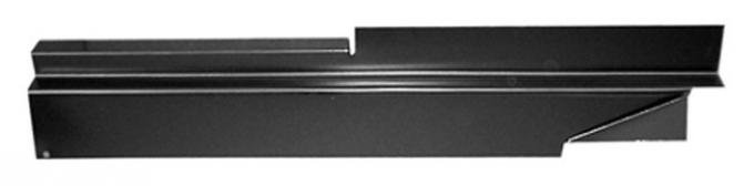 Key Parts '73-'87 Rocker Backing Plate, Driver's Side 0850-301 L