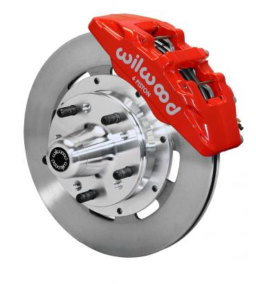 Wilwood Brakes Forged Dynapro 6 Big Brake Front Brake Kit (Hub) 140-10738-R