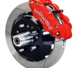 Wilwood Brakes Forged Narrow Superlite 6R Big Brake Front Brake Kit (Hub) 140-10485-R