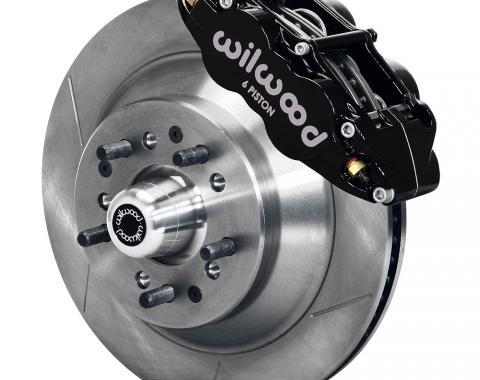 Wilwood Brakes Forged Narrow Superlite 6R Big Brake Front Brake Kit (Hub and 1PC Rotor) 140-12278