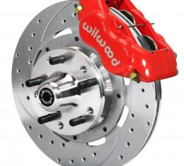 Wilwood Brakes Forged Dynalite Big Brake Front Brake Kit (Hub) 140-7675-ZR