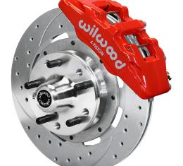 Wilwood Brakes Forged Dynapro 6 Big Brake Front Brake Kit (Hub) 140-10510-ZR