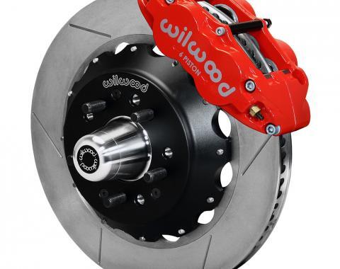 Wilwood Brakes Forged Narrow Superlite 6R Big Brake Front Brake Kit (Hub) 140-12465-R