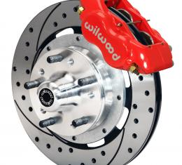 Wilwood Brakes Forged Dynalite Big Brake Front Brake Kit (Hub) 140-7675-DR